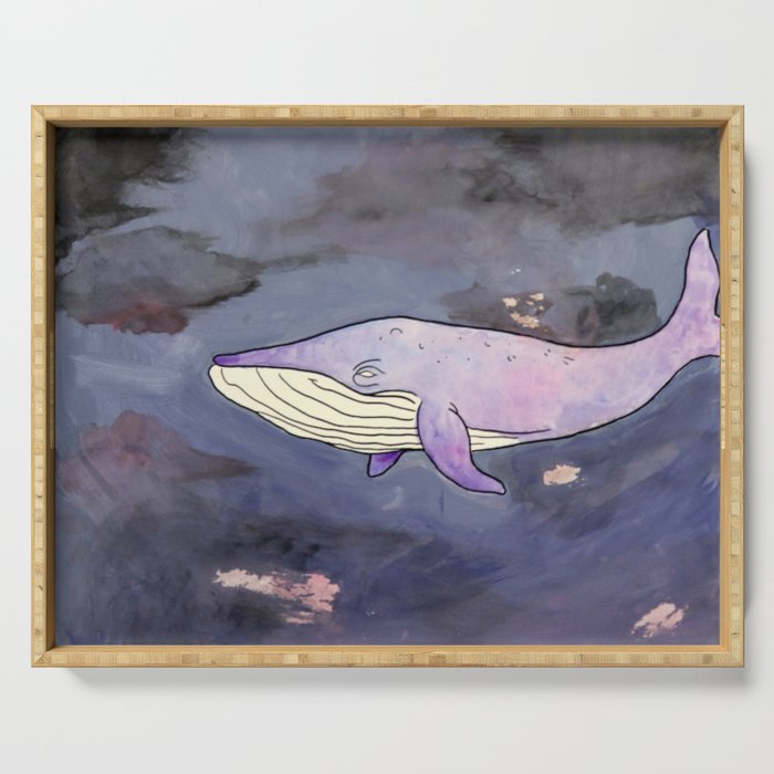 Sky Whale Serving Tray