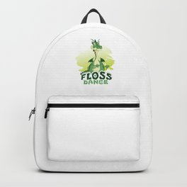 Floss Dance Move Dragon Backpack