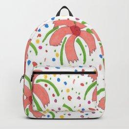 Tropical Fiesta Flowers Backpack