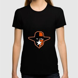 Cowboy Outlaw Star Icon T-shirt