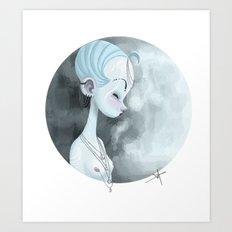Moon Guardian Art Print