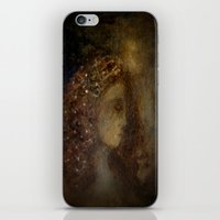agnes cecile iPhone & iPod Skins featuring st agnes' eve by Imagery by dianna