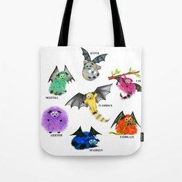 Seven Books, Seven Iggys Tote Bag