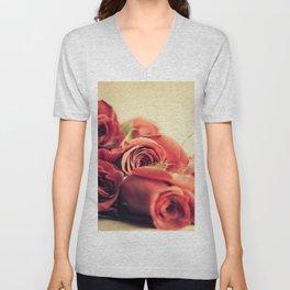 A Dozen Roses Please Unisex V-Neck