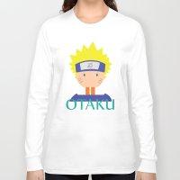naruto Long Sleeve T-shirts featuring Naruto icons by Maha Akl