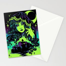 Grave Spirit Color Stationery Cards