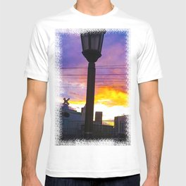 Sunset at Union Station - LA Baby - Jeronimo Rubio Photography 2016 (all over) T-shirt