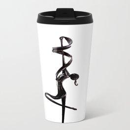 Dancer Statue Metal Travel Mug