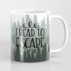 I Read to Escape (Trees) Mug