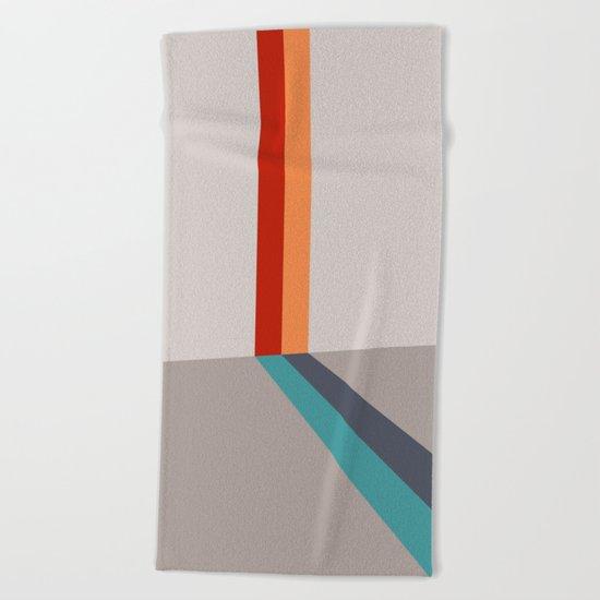 Poligonal 178 Beach Towel