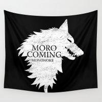 mononoke Wall Tapestries featuring House Mononoke by machmigo