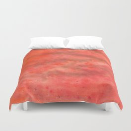 RED.  Duvet Cover