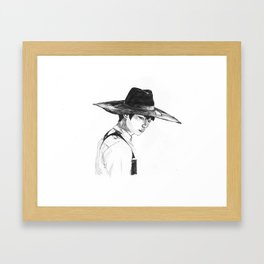 Minho - SHINee Everybody Era Framed Art Print