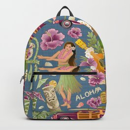Hula Half Drop Backpack