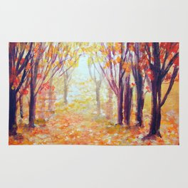 Where Has My Love Gone ~ Colors of Fall Rug
