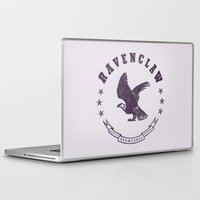 ravenclaw Laptop & iPad Skins featuring Ravenclaw House by Shelby Ticsay
