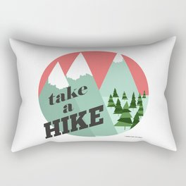 Take a Hike Rectangular Pillow