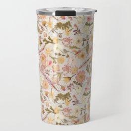 Roses and Lace Travel Mug