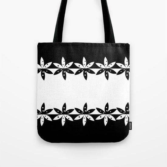 BLACK A Tote Bag