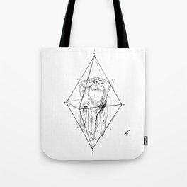 Tooth Prism Tote Bag