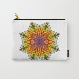 octagonal flowers Carry-All Pouch