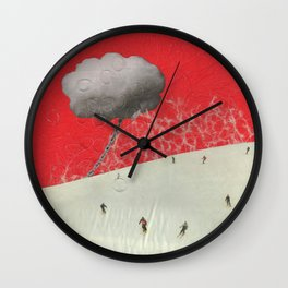 Dawn on the Slope Wall Clock