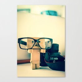 Hipster Danbo Canvas Print
