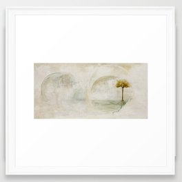Reconciled Framed Art Print