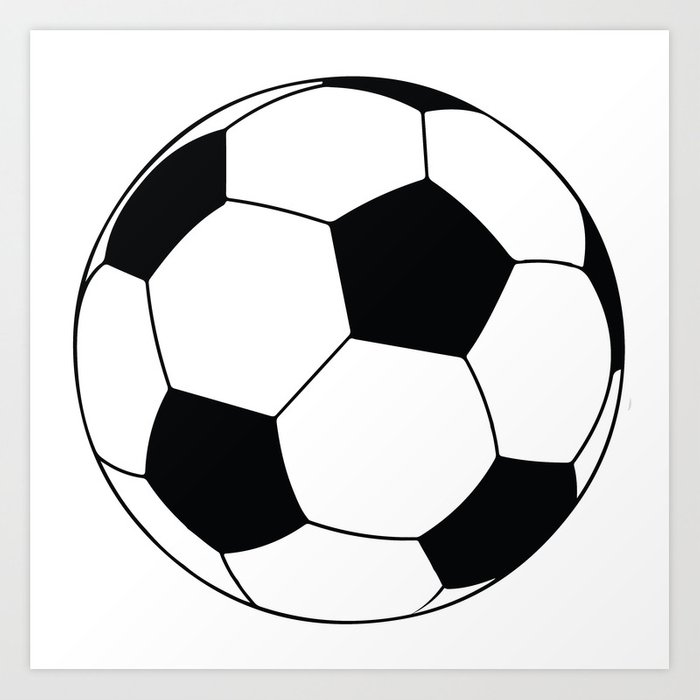 world cup soccer ball 1970 art print by giart society6