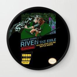 8-bit Champion: Riven Wall Clock