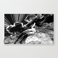 apollonia Canvas Prints featuring asc 615 - La volupté des formes (The voluptuousness of painting) by From Apollonia with Love