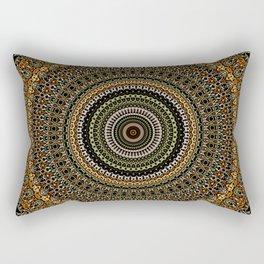 Fractal Kaleido Study 001 in CMR Rectangular Pillow