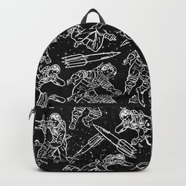 Space Travellers-Fun Doodles-Mix and Match with Simplicity of Life Backpack