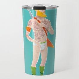 Rocker Aquaman blue Travel Mug