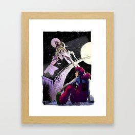 Space Travel (C) Framed Art Print