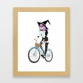 Broom Upgrade Framed Art Print