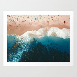 Bronte Beach | Aerial Photography  Art Print