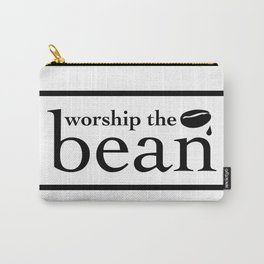 Worship The Bean Carry-All Pouch