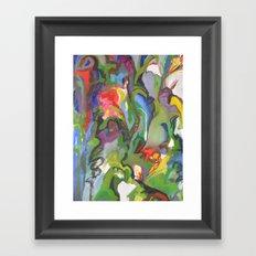 Rhapsody -detail Framed Art Print