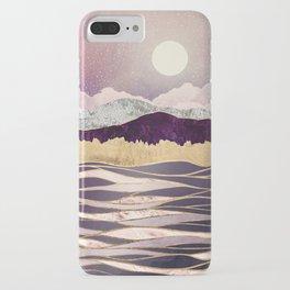 Lunar Waves iPhone Case