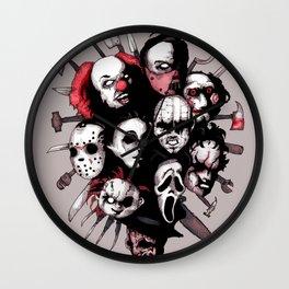 Horror Heroes Wall Clock