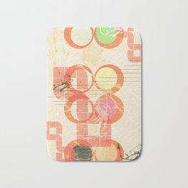 Abstract geometric art Bath Mat
