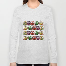 Owls Family Long Sleeve T-shirt