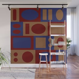 circles and rectangles Wall Mural