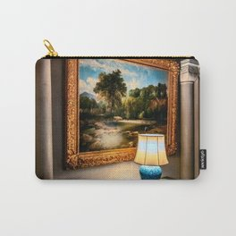 Vintage Hall Painting Carry-All Pouch