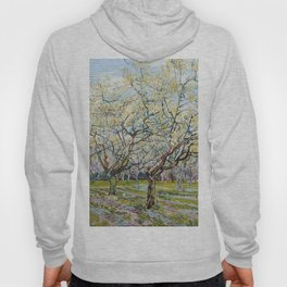 The White Orchard by Vincent van Gogh Hoody