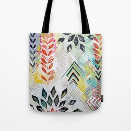 """Holocene"" Original Painting by Flora Bowley Tote Bag"
