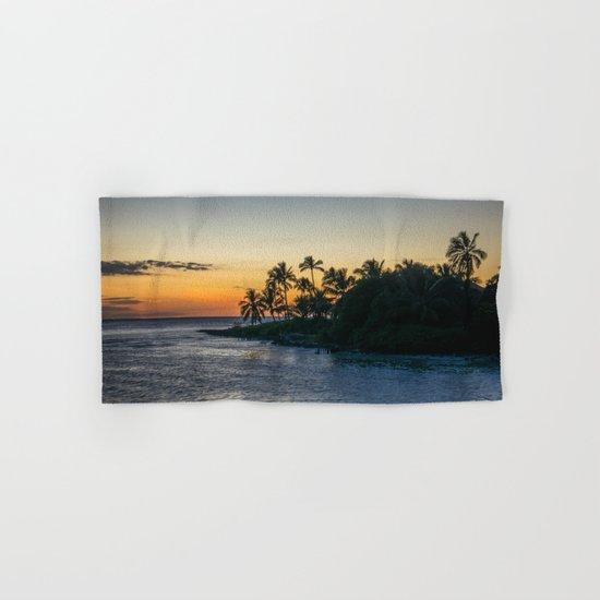 tropical island Hand & Bath Towel