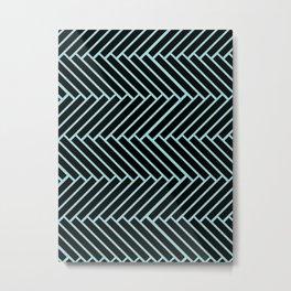 Criss Cross. Metal Print