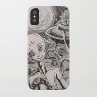 alien iPhone & iPod Cases featuring Alien by Ju.jo.weh